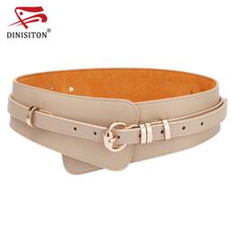 Wholesale Womens Fashion Wide Belts - Womens Fashion PU Leather Lady Wide Waist Wide Waistband Bind Wide Belts Women Belt Dress Adornment YF005