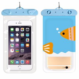 2019 handyausrüstung ISHOWTIENDA Unterwasser Reise Schwimmen Wasserdichte Tasche für 6 Zoll Handy für outdoor-ausrüstung # 35 günstig handyausrüstung