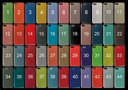 ajouter de l'art Promotion Cas officiel de couverture de coussin de microfibre en caoutchouc liquide bonbons de gel de silicone liquide en caoutchouc pour iPhone XS Max XR Plus 8 6 7 6S avec la boîte de détail
