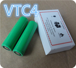 Wholesale ion dryer - US18650 VTC4 Clone 2100mah 18650 Battery 3.7V 30A High Dry Li-ion batteries for E cigarettes Ecigs Vape Box mods