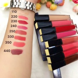 Wholesale Es Top - Top Quality with best price ! Famous Brand ES Lipstick 8 colors easy to wear and long-lasting DHL free ship