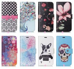 2 в 1 Магнит съемный съемный кожаный бумажник для Iphone XR XS MAX X 8 7 Plus 6 Galaxy Note 9 8 S8 S9 череп цветок собака откидная крышка чехол от Поставщики собака-магнит