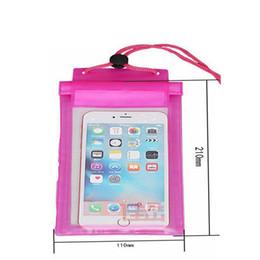 auriculares 3d Rebajas Pvc pantalla táctil transparente bolsa impermeable de natación al aire libre de tres capas de protección gancho y lazo teléfono móvil bolsa impermeable de tres paquetes