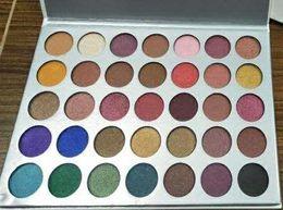 Wholesale free eye shadows - 35 colors eye shadow Palette Matte Shimmer Eye shadow makeup palette 35 colors Cosmetic palette eye shadow DHL free shipping