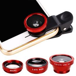 handy ohne kamera Rabatt 3 in 1 Universal Clip Kamera Handy Objektiv Fischauge + Makro + Weitwinkel Alle Handys nur nackte Kamera NICHT Kit ohne Box