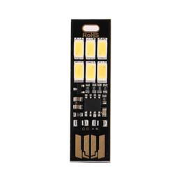 Canada MYLB-MINI Touch Switch USB mobile lampe de camping électrique LED veilleuse Lampe blanche Ampoule Offre