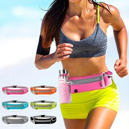 Wholesale Purses Water Resistant - Colorful Waist Pack Bags Purse Cell Phone Case bag Pocket Pouch Cases For Samsung For Huawei 6.0'' Universal Phone Cover