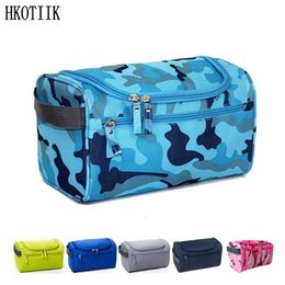hanging waterproof cosmetic bags Coupons - Waterproof Men Hanging Makeup Bag Nylon Travel Organizer Cosmetic Bag for Women Large Necessaries Make Up Case Wash Toiletry