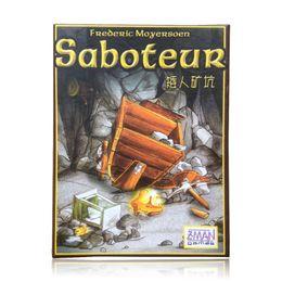 Regras de jogos de tabuleiro on-line-venda quente várias regras de linguagem saboteur 1 / saboteur 2 expansão / pacote VIP / pacote simples, jogo de mesa de jogo de cartas, jogo de tabuleiro