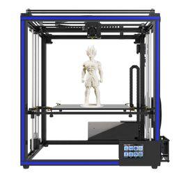 repus prusa i3 kit Rabatt Tronxy Hohe Genauigkeit 3D Drucker DIY Kit mit Heatbed Touchscreen Auto Leveling Resume Druck Filament Run Out Detection Kostenloser Versand VB