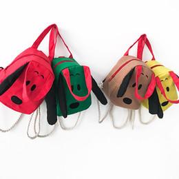 cross-body-taschen für jugendliche Rabatt Kinder Schultern Taschen Mädchen niedlichen Hund Hanfseil Rucksack Kinder Handtaschen Cross-Body-Tasche Eine Vielzahl von Nutzung Taschen Teenager Travel Shopping Bag
