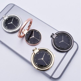 Wholesale Rose Ring Watch - Pocket watch Cell Phones Accessories Metal cell phone bracket drop ring metal ring holder gift Mounts Holders