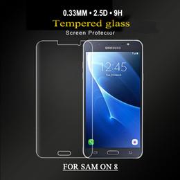 Самое новое прибытие 0.26 мм анти-синий свет закаленное стекло для Samsung galaxy ON5/ON7 / ON8 закаленное стекло протектор экрана для samsung E5 / E7 cheap e7 screen от Поставщики экран e7