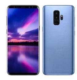 Wholesale sim plus - ERQIYU Goophone 9 9+ plus 6.2inch full screen Octa Core Smartphones shown 4G LTE 4G RAM 128GB ROM Unlocked Cell phones