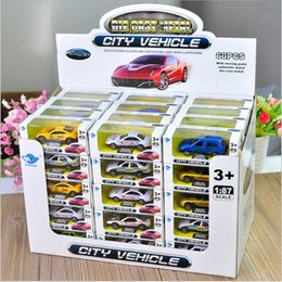 Wholesale Mini Children - Children 's toys new alloy cars alloy car models toy stalls selling alloy cars