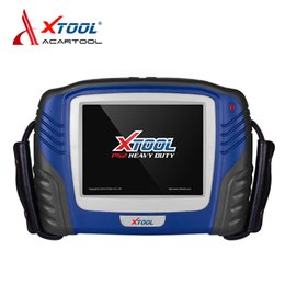 Wholesale x ps2 - Professional PS2 Heavy duty truck diagnostic tool X-TOOL PS2 Truck scanner good price ps2 truck professional diagnostic tool