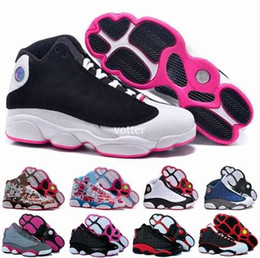 Wholesale High Cut For Womens - Fashion 13 XIII Basketball Shoes For Women,High Quality Woman 13s Athletic Sport Basket Ball Womens Sneakers Trainers Shoe Size 36-40