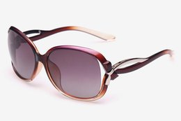 Wholesale Big Black Fashion Eyeglass Frames - Women lady Retro polarized sunglasses big frame classic fashion BOW deco 2229 sun glasses driving mirror Eyeglass googles eyewear a366