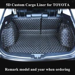 Voitures anciennes en Ligne-Tapis de coffre de voiture personnalisée pour Cargo Liner pour Toyota crown reiz camry corolle exerçue sur les tapis de coffre automatique