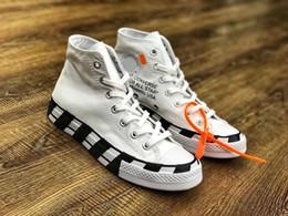 Chaussures haut de gamme en Ligne-Hot vente plus récent All Star designer toile skateboard chaussures Hommes Femmes High Top Classic toile chaussures de course size35 ~ 44