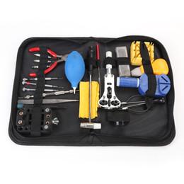 2019 ersatz für uhren 22 in 1 Uhr Repair Tool Kit Uhrenöffner Band Link Pin Federstegwerkzeugsatz Batteriewechsel Uhrmacherwerkzeuge günstig ersatz für uhren
