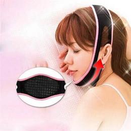 Маскирующий снотворный онлайн-Face Lift Up Belt Спящая Маска Массаж для Похудения Лица Shaper Anti-Aging