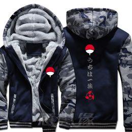 2019 chaqueta naruto uzumaki Nueva sudadera con capucha Naruto Anime Ootutuki Hagoromo Uzumaki Chaqueta con capucha Naruto Winter Men Thick Zipper Sudadera chaqueta naruto uzumaki baratos