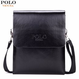 Wholesale Cover Decks - VICUNA POLO Hot Sell Small Mens Messenger Bag Mini Size Double Deck High Capacity Mens Crossbody Bag Simple Flap Bags Hot