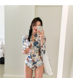 Wholesale one shoulder bathing suits - New Sexy Off The Shoulder Solid Swimwear Women One Piece Swimsuit Female Bathing Suit Ruffle Monokini Swim Wear XL