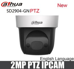 mini ptz camera Coupons - Dahua IR Mini PTZ IP Camera SD2904-GN 4x optical zoom replace DH-SD29204T-GN SD29204S-GN SD29204t-gn 2MP 1080p Network camera