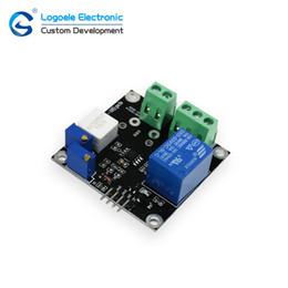 Sensore ad alto livello online-Alta qualità DC 5V Modulo sensore di corrente con relè corto, uscita analogica, uscita livello TTL Corrente di protezione da sovracorrente