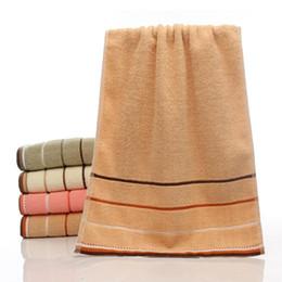 Équipement pur en Ligne-Pur coton serviette épaississement plaine couleur eau sucer douce environnement cassé engrenages engrenages pour cadeau de bricolage adulte 3 7zj ff