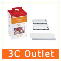 Canada Jeu de papier d'encre couleur authentique RP-108 pour Selphy CP1200, CP1000, CP910, CP820 supplier ink Offre