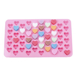 Wholesale Ice Cream Hearts - Hot sale creative manual heart-shaped Chocolate mould cute Home ice-cream mould Kitchen tool Cake moulds T3I0020