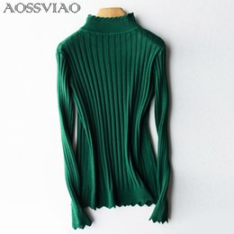 Wholesale Turtleneck Wholesaler - Women Sweaters And Pullovers Female 2018 Arrivals Women Turtleneck Jumper Long Sleeve Winter Sweater Tricot Autumn Tops