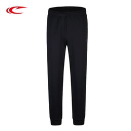 Wholesale Workout Cloths - SAIQI Men's Athletic Pants Workout Cloth Sporting Active Knit Pants Men Jogger Sweatpants Bottom Legging Running 925