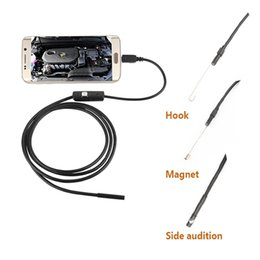Wholesale Camera Lens For Android - 2 1.5 3.5 5M IP67 Waterproof 6 LED 7mm Lens USB Endoscope Camera Endoscope Mini Camera Mirror For Android
