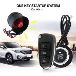 Wholesale auto central - Universal Car Alarm System Remote Start Stop Engine System with Auto Central Lock and Keyless Entry CAL_10H