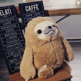 Paresseux koala poupée instagram avec un animal en peluche est titulaire dune oreiller poupée cœur de grande fille en Corée drôle Offrir un cadeau d anniversaire pour un enfant ? partir de fabricateur