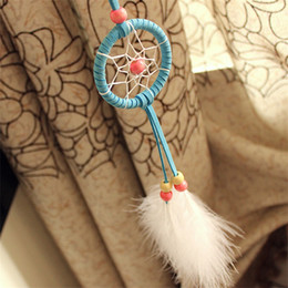 Canada Japonais vent carillon Arts et artisanat pendentif Mini Style indien Dream Catcher voiture décoration fait à la main plume Dreamcatcher 4 5xr C supplier japanese mini cars Offre