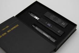 Vax vape en Ligne-Contrôle de la température Vaporisateur Vax Plus Dry Herb WAX Vape Kit Batterie amovible Écran OLED avec Verre Eau Embout Cigarette électronique