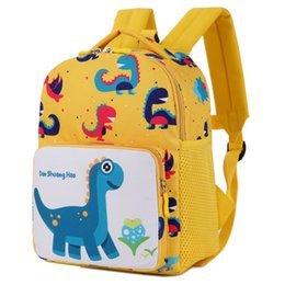 New Cartoon Kids Backpacks Baby Toy Dinosaur Schoolbag Student Kindergarten  Backpack Cute Children School Bags For Girls Boys 3-6T a6168185dd5c0
