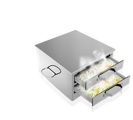 Порошковые насосы онлайн-Пароход ящик две сетки три перекачки порошок бытовой пропаривания риса клецки пропаривания пластины мини-версия тонкой кишки тянуть порошок