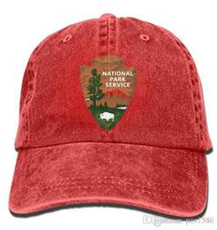 2019 logo parco Cappellini da baseball con logo National Park degli Stati Uniti. Snapbacks vintage da uomo di alta qualità patriottica sconti logo parco