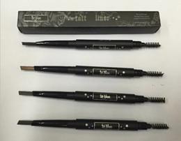 Wholesale Brow Kit Wholesalers - HOT kat von d Makeup Tattoo Liner Eyebrow Pencil 4 Colors Waterproof Eye Brow Maquillage Kit