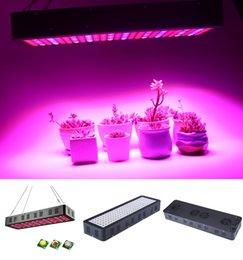 2019 planta crecer panel led Reflector de luces hidropónicas LED 800W 3535 Lámpara de panel de luz LED Grow Spectrum Interior Luces de jardín Plantas de plántulas luces de cultivo planta crecer panel led baratos