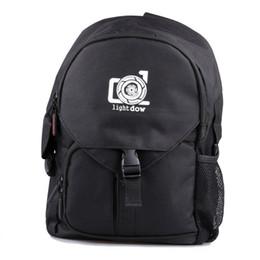 Cámara fotográfica impermeable al aire libre de Lightdow Bolsa fotográfica Cámara multifuncional Mochila de viaje Bolsa fotográfica para Canon Nikon Cámaras DSLR desde fabricantes