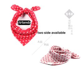 Wholesale Baby Boy Tie Bibs - Wholesale- newborn Baby Clothes baby boys Bibs & Burp Cloths fashion brand ties saliva for baby girls towel two side available gifts