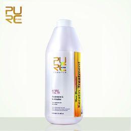 Wholesale Oils For Hair - PURC Hot sale straightening hair product 12% brazilian keratin for deep Curly hair treatment wholesale hair salon