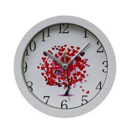 Wholesale silent alarm - Wholesale Popular Silent Sweep Modern Graceful Bell Desk Creative Digital Alarm Clock Exquisite Alarm Clock #30